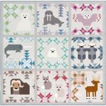 North Stars Quilt Kit by Elizabeth Hartman by Elizabeth Hartman Kits - OzQuilts