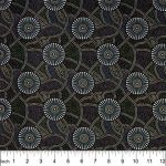 Kangaroo Path Black by Roseanne Morton by M & S Textiles Coming Soon - OzQuilts