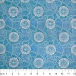 Kangaroo Path Blue by Roseanne Morton by M & S Textiles Cut from the Bolt - OzQuilts