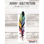 Aviary Laser Cut Quilt Kit includes pattern & prefused applique pieces by  Kits - OzQuilts