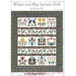 William and May Quilt Sampler Quilt Pattern by Michele Hill by Michelle Hill - William Morris in Quilting Applique - OzQuilts