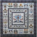 William and May Quilt Sampler by Michelle Hill by Michelle Hill - William Morris in Quilting Applique - OzQuilts