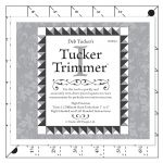 Tucker Trimmer Ruler by Studio 180 Design Trimmers - OzQuilts
