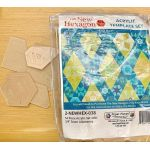 "The New Hexagon 2 By Katja Marek 54 Piece Acrylic Template Set with 3/8"" seam allowance by Martingale & Company EPP Templates - OzQuilts"