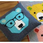 Bjorn Bear Quilt Kit by Elizabeth Hartman - includes Fabric, Pattern & Binding by Elizabeth Hartman Kits - OzQuilts