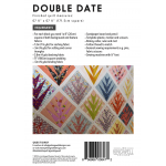 Double Date Quilt Pattern and Acrylic Template set by Jen Kingwell Design by Jen Kingwell Designs Jen Kingwell Designs Templates - OzQuilts