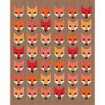 Fancy Fox Quilt Kit by Elizabeth Hartman by Robert Kaufman Fabrics Great Gift Ideas - OzQuilts