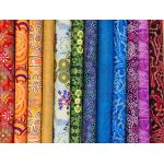 Aboriginal Art Fabric 12 Fat Quarter Bundle - Rainbow Set 3 by M & S Textiles Fat Quarter Packs - OzQuilts