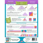 "Clearly Perfect Slotted Trimmer A2 - 5.5"" to 10.5"" sizes by New Leaf Stitches Specialty Rulers - OzQuilts"