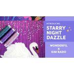 Wonderfil Starry Starry Night Dazzle Thread - Complete 35 Spool Collection by Wonderfil Starry Night Dazzle Thread - OzQuilts