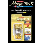 50 Magic Applique Pins In Designer Case by Taylor Seville Appique Pins - OzQuilts