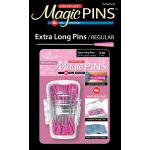 Magic Pins 100 Extra Long Regular Pins In Designer Case by Taylor Seville Patchwork & Quilting Pins - OzQuilts