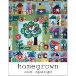 Home Grown Book by Sue Spargo by Sue Spargo Sue Spargo - OzQuilts