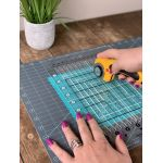 "Creative Grids Cutting Mat 12"" x 18"" by Creative Grids Cutting Mats - OzQuilts"