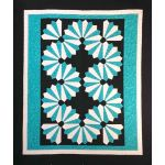 Dynamic Dresden Quilt Cut Loose Press Pattern by Cathey Laird by Cut Loose Press Cut Loose Press Patterns - OzQuilts