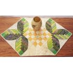 Cabin Leaves Table Runner Cut Loose Press Pattern by Cut Loose Press Patterns Cut Loose Press Patterns - OzQuilts