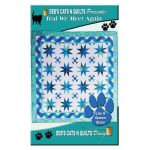 Teal We Meet Again Quilt Pattern by Deb Heatherly by Deb's Cats N Quilts Designs Quilt Patterns - OzQuilts