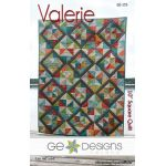 Valerie Quilt Pattern by Gudrun Erla by G. E. Designs Quilt Patterns - OzQuilts