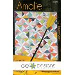 Amalie Quilt Pattern by Gudrun Erla by G. E. Designs Quilt Patterns - OzQuilts