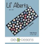 Lil Alberta Table Runner Pattern by Gudrun Erla by G. E. Designs Quilt Patterns - OzQuilts