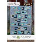 Ava Quilt Pattern by Gudrun Erla by G. E. Designs Quilt Patterns - OzQuilts