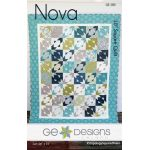Nova Quilt Pattern by Gudrun Erla by G. E. Designs Quilt Patterns - OzQuilts