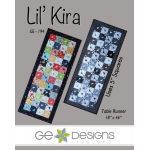 Lil Kira Table Runner Pattern, by Gudrun Erla by G. E. Designs Quilt Patterns - OzQuilts