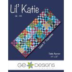 Lil Katie Table Runner Pattern, by Gudrun Erla by GE Designs Quilt Patterns - OzQuilts
