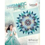 "Prismatic Star Queen Size 91"" x 91"" Quilt Pattern & Papers by Judy Niemeyer by Quiltworx Judy Niemeyer Quiltworx - OzQuilts"
