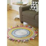 Jelly Roll Rugs & More by Leisure Arts Pre-cuts & Scraps - OzQuilts