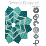 Dynamic Dresdens by Susan Cleveland by Pieces Be With You Quilt Books - OzQuilts