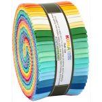 "Kona Cotton Solid 1930's Palette, 40 strips x 2 1/2 inch wide by Robert Kaufman Fabrics 2.5"" Strips - OzQuilts"