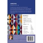 Arrows Quilt Pattern Uses Creative Grids Half Sixty & 60 Degree Triangle Rulers by Sheila Christensen Quilts Quilt Patterns - OzQuilts