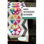 Mini Wonders Runner Quilt Pattern for the Creative Grids Mini DIamond Ruler by Sheila Christensen Quilts Quilt Patterns - OzQuilts