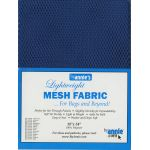 """Lightweight Mesh Fabric By Annie  18"""" x 54"""" Blastoff Blue by ByAnnie By Annies Fabric Mesh, Vinyl, Strapping - OzQuilts"""