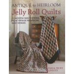 Antique to Heirloom Jelly Roll Quilts by Quilt Room Pam & Nicky Lintott Pre-cuts & Scraps - OzQuilts