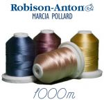 Marcia Pollard Colours Robison-Anton Rayon Embroidery Thread 1100 yards (1000 metres) by Robison-Anton Thread Robison Anton Embroidery Thread - OzQuilts