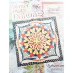 Dinner Plate Dahlia Pattern & Foundation Papers by Quiltworx - Wall Size by Quiltworx Judy Niemeyer Quiltworx - OzQuilts