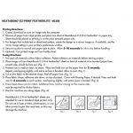 """HeatnBond EZ Print Featherlite 8.5"""" x 11"""" by Therm O Web Fusible Web - OzQuilts"""