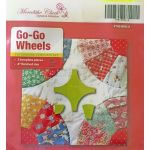 "Go Go Wheels 8"" Patchwork Template Set by Meredithe Clark Designer Collection Meredithe Clark Designer Collection - OzQuilts"