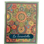 La Tarantella Template Set from Millefiori Quilts 3 - Halo Set in Original Size by OzQuilts Millefiori Book 1  - OzQuilts