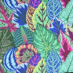 Coleus - Turquoise by The Kaffe Fassett Collective Coleus - OzQuilts