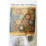You Are My Sunshine By Willyne Hammerstein of Millefiori Quilts Complete Paper Piecing Pack by Paper Pieces Paper Pieces Kits & Templates - OzQuilts