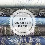 Aboriginal Art Fabric 5 Fat Quarter Bundle - Steel Colourway by M & S Textiles Fat Quarter Packs - OzQuilts