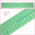 "Sue Daley 6"" Ruler by Patchwork with BusyFingers Sue Daley EPP Notions - OzQuilts"