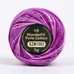 Wonderfil Eleganza, Fuchsia (EL5GM1003)  8wt Cotton Thread 5g balls by Wonderfil Eleganza Perle 8 Balls Eleganza 8wt Cotton - OzQuilts