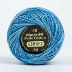 Wonderfil Eleganza, Oceanic (EL5GM1010)  8wt Cotton Thread 5g balls by Wonderfil Eleganza Perle 8 Balls Eleganza 8wt Cotton - OzQuilts