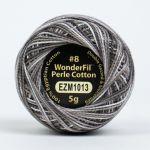 Wonderfil Eleganza, Patinated Leather (EL5GM1013)  8wt Cotton Thread 5g balls by Wonderfil Eleganza Perle 8 Balls Eleganza 8wt Cotton - OzQuilts
