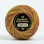 Wonderfil Eleganza, Autumn Spice (EL5GM1016)  8wt Cotton Thread 5g balls by Wonderfil Eleganza Perle 8 Balls Eleganza 8wt Cotton - OzQuilts