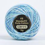 Wonderfil Eleganza, Glacier (EL5GM1018)  8wt Cotton Thread 5g balls by Wonderfil Eleganza Perle 8 Balls Eleganza 8wt Cotton - OzQuilts